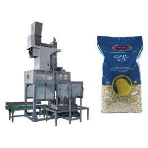 20 kg sjøåpent munnsekk og veskefyllingsskala Automatisk kornpakke med store vesker