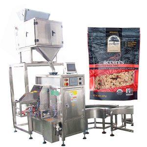 Automatisk fyllings- og tetningsmaskin for kaffepulver