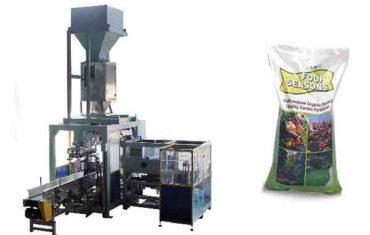 automatisk 50 kg stor pose kjemisk gjødsel pakke maskin