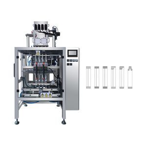 Automatisk Multi Lane Sachet Stick Powder Packing Machine for kaffe, melk