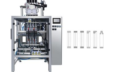 automatisk multi lane sachet pinne pulver pakke maskin