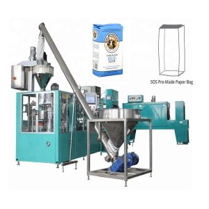 Automatisk Pre-made Papirpose Packing Machine