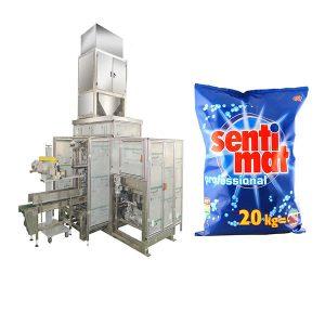 Automatisk Premade Big Bag Packing Machine Vaskemiddel Pulver Åpen munn Bagger