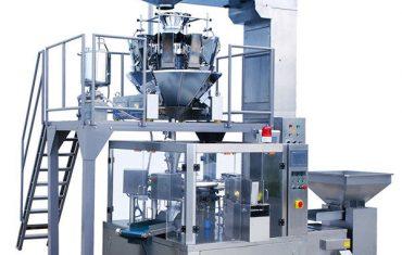 Automatisk kaffebønnemat rotasjons glidelås posen emballasje maskin