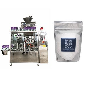 Automatisk Rotary Premade Bag Packing Machine for Salt