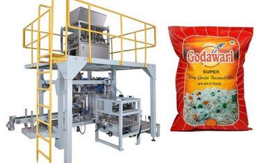 stor veske granulert tøyveske emballasje maskin for ris