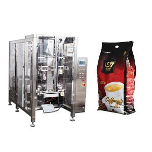 Kaffe Quad bag Form Fill Seal emballasje maskin