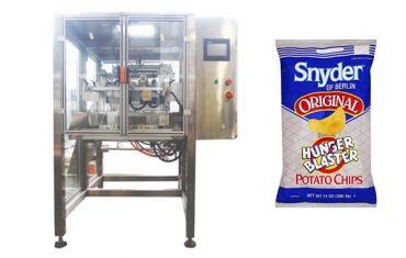 kontinuerlig bevegelse vertikal snack mat granule pakke maskin