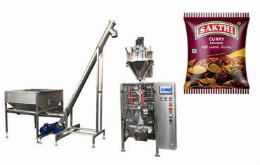 100g-500g karri pulver emballasje maskin