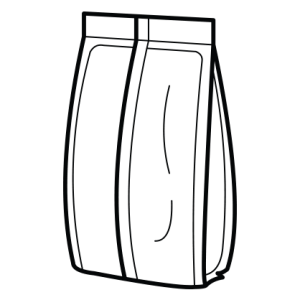 Flat bunn - 5 tetninger