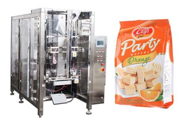 fullautomatisk mat quad-seglposepakkemaskin