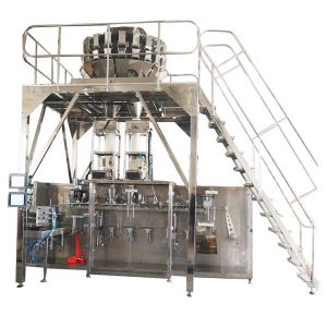 Horisontal Pre-Made Packing Machine med Multihead Scales for Granules