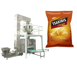 Potet Chips Packing Machine