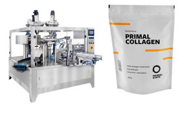 pulver automatisk pose fylling pakke maskin