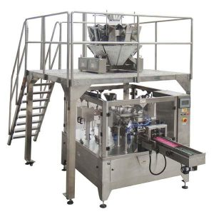 Rotary Automatic Zipper Bag Fill Seal Packing Machine For frømutter
