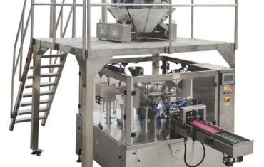 roterende automatisk glidelås pose fylle pakning pakke maskin for frø nøtter