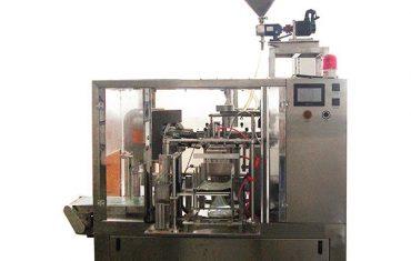 Roterende tetningsforsegling med pistill fyllstoff for væske og lim