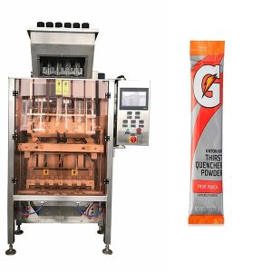 Små sachets Powde Multi-Line Packing Machine