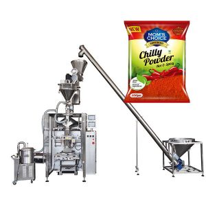 VFFS Bagger Packing Machine med Auger Filler for Paprika og Chilli Matpulver