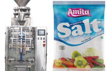 vertikal automatisk pose pose salt pakke maskin